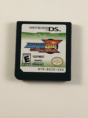 Mega Man Zero Collection (Nintendo DS, 2010) Tested Cartridge Only Authentic