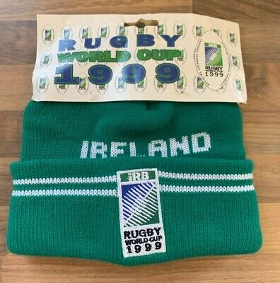 Ireland Rugby Union World Cup 1999  Official Licensed  IRB  Vintage Hat New