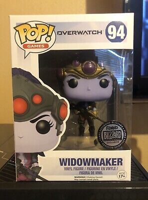 Vinyl Widowmaker #94 ORIGINAL Funko Pop BLIZZARD EXCLUSIVE