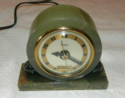Hammond Synchronous Mantel Clock Made in U.S.A