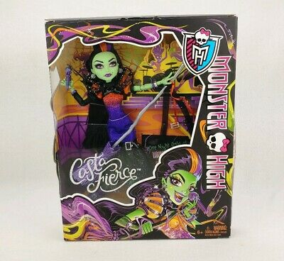 2014 Mattel Monster High Casta Fierce Concert Doll! Witch! BNIB! NRFB!