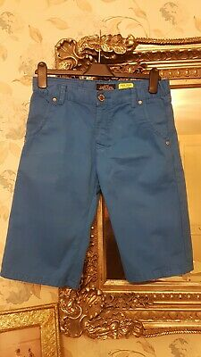 CARS fitted 100% cotton boys blue shorts jeans size 16