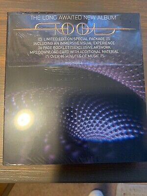 Tool Fear Inoculum CD Limited Deluxe Edition Tri Fold W/ HD Screen In Hand