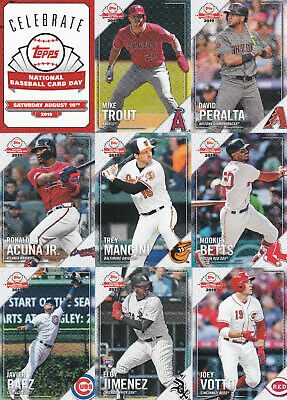 2019 Topps National Baseball Card Day Complete Set of 32 W/SP Vlad Jr Alonso RC