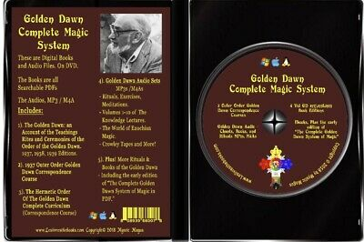 Golden Dawn Complete Magic System on DVD Books, Courses, Audio Regardie, Crowley