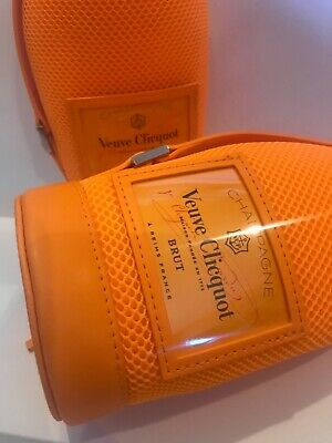 New Set Of 2 Veuve Clicquot Champagne Chiller Travel Bag Ice Jacket Sleeves