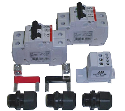 SOLADECK AC 15A Breaker Combiner Kit for 2 AC Branches, 0760K2AC-PB15