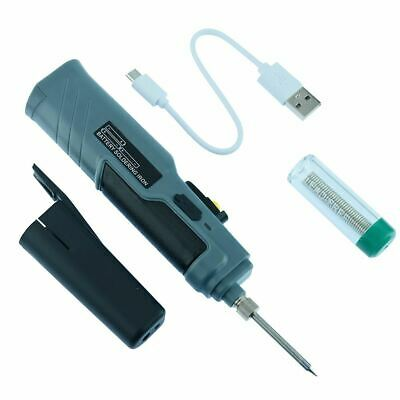 8W Battery Powered Portable Soldering Iron Solder Tool