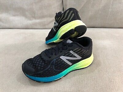 New Balance Kids Youth Runners Shoes 13 US 18.5cm Vazee Rush Black Trainers [R3]