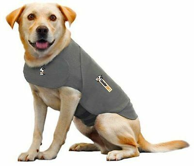 Thundershirt Insanely Calm Classic Dog Anxiety Jacket Size XL Solid Gray