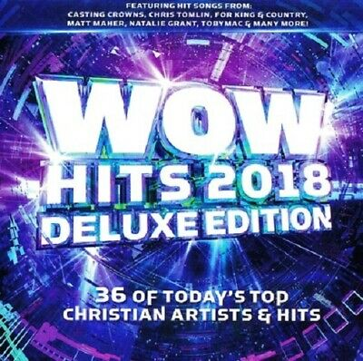 WOW Hits 2018 Deluxe edition Christian Various Artists 39 Hit 2 CD New & Sealed