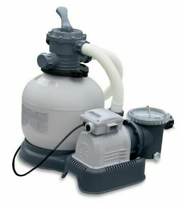 Intex 28647EG Krystal Clear 2800 GPH Above Ground Swimming Pool Sand Filter Pump