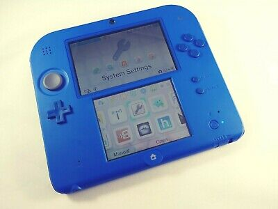 MODDED NINTENDO 2DS + 64GB microSD + Over 50 Games COMPLETE