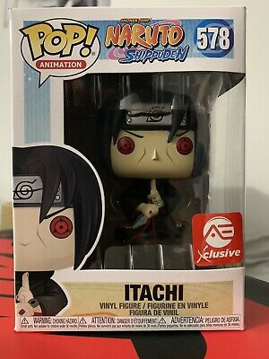 Funko POP! Itachi Uchiha Sharingan AEC Exclusive Naruto Shippuden #578 IN HAND!