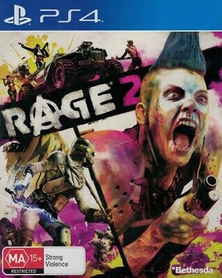 Rage 2, Playstation 4 Game, USED
