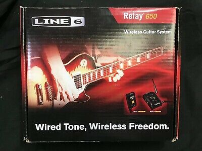 *NEW* Line 6 Relay G50 Digital Guitar Wireless System with Pro-Stompbox Receiver