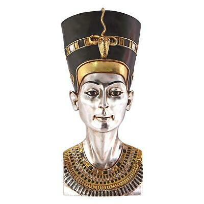 "28"" Ancient Egyptian Collectible Sculpture Queen Nefertiti Wall Statue"