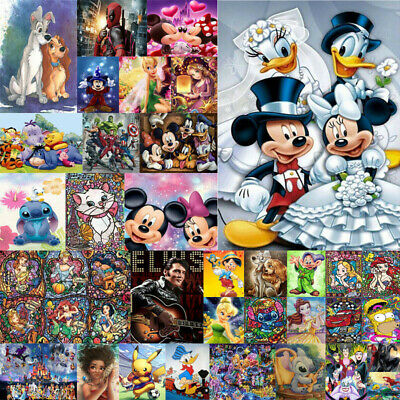 Full Drill DIY 5D Diamond Painting Embroidery Cross Craft Art Mickey Characters