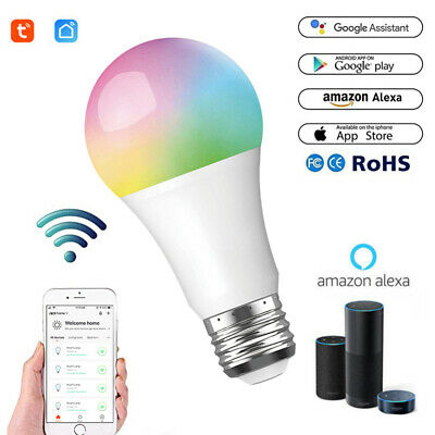 SHELLY WIFI SMART Bulb E27 Dimmable Multicolored Switch