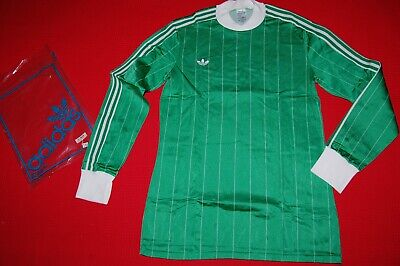 Adidas Vintage Shirt 80'S Green Football New Deadstock Made In France Trikot
