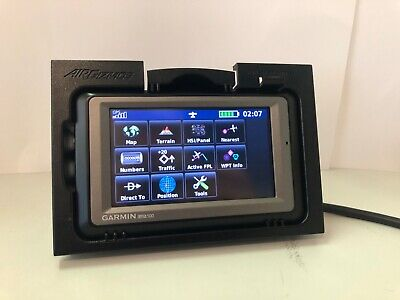 Garmin GPS Aera 500 used with airgizmos panel mount