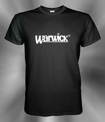 Warwick Bass Guitars Logo T Shirt S M L XL 2XL 3XL