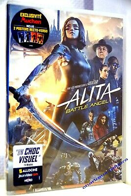 film Dvd ALITA Battle Angel new 07/2019 Rosa Salazar Christoph Waltz J. Connelly