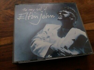 The Very Best Of Elton John - 2 Disc UK CD Fatbox Edition VGC