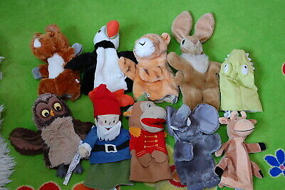 Hand Puppet Collection Lot 1
