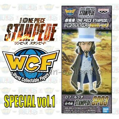 ONE PIECE WCF World Collectable STAMPEDE LIMITED ver. SPECIAL vol.1 ROB RUCCHI