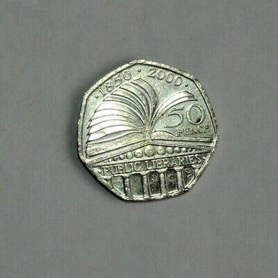 Circulated Great Britain Commemorative Fifty Pence (50p) Coins