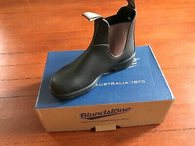 89b97b34980 BLUNDSTONE WOMENS ORIGINAL 500 Series Stout Brown Leather Pull On ...