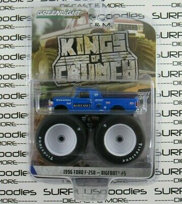 """Greenlight Kings of Crunch S4 1996 FORD F-250 BIGFOOT #5 120"""" Tire Monster Truck"""