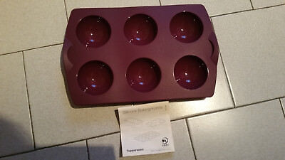 Moule A 6 Domes Tupperware - Neuf - 6 Cavites 74 Ml - Violet