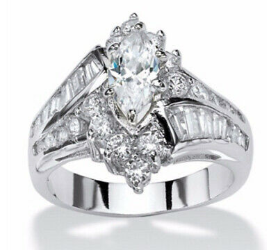 Women rings stainless steel ring wedding rings engagement for Lady's AAA ring