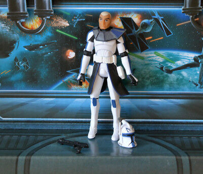 Star Wars Figure 2008 Animated Clone Wars Captain Rex