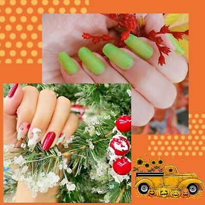 THANKSGIVING & CHRISTMAS AUTUMN Nail Polish Strips BUY 03 GET 02 FREE Manicure