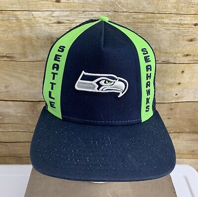 6cb705a6 RARE VINTAGE NFL Seattle Seahawks New Era Cap MADE IN THE USA Hat ...