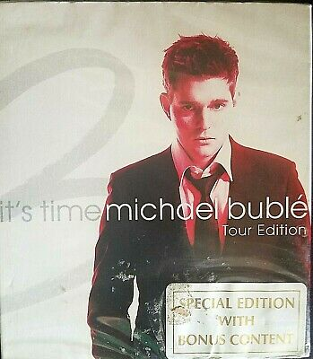 Michael Buble-It's Time-Tour Edition-CD-Wrapped, new