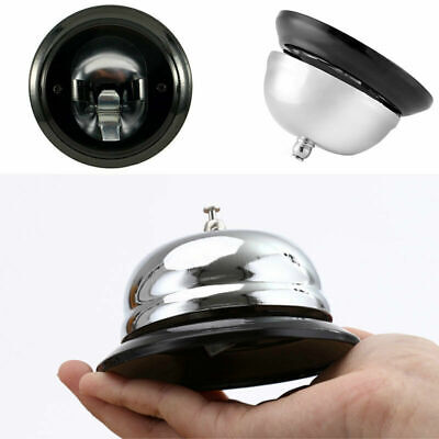 Portable Restaurant Hotel Kitchen Service Steel Bell Ring Ringer Call Desk W2Y0