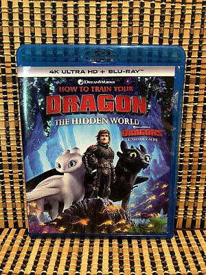 How to Train Your Dragon 3: The Hidden World (1-Disc Blu-ray, 2019)