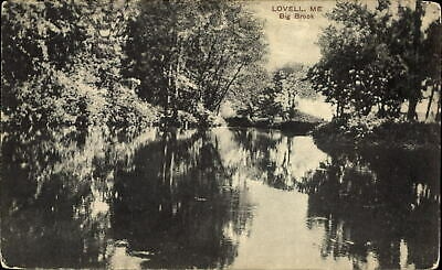 Lovell Maine Big Brook PCK Series ~ c1910 vintage postcard