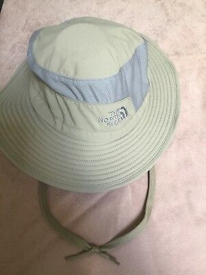 889af81a6 VINTAGE THE NORTH Face Sun Bucket Hat One Size Tan Khaki Nylon ...