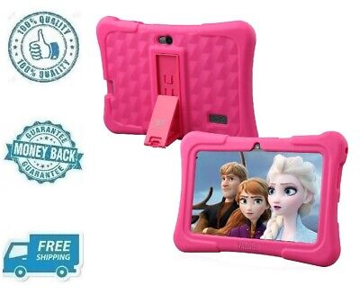 """New Pink 7"""" Kids Tablet Android 8.1 Disney Content Tab eBook Reader With WiFi"""