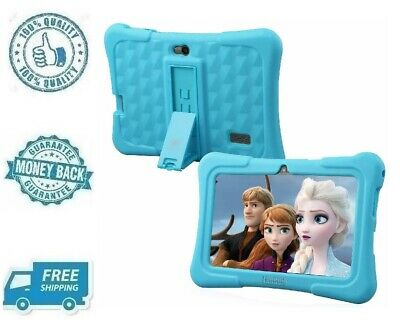 """New Blue 7"""" Kids Tablet Android 8.1 Disney Content Tab eBook Reader With WiFi"""
