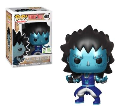 2019 Funko POP! Fairy Tail Gajeel Dragon Force #481 Spring Convention Exclusive