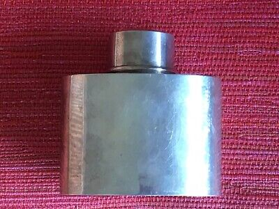 Antique Solid  Sterling Silver Canister Caddy 156 Grams