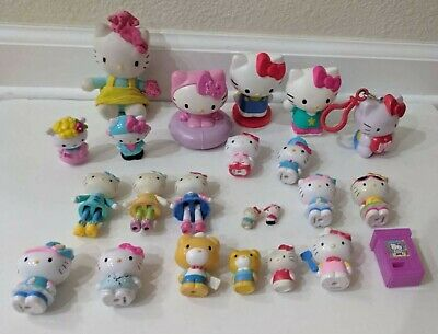 Hello Kitty Cute Anime Figures LARGE LOT!