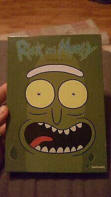 Rick and Morty: The Complete Third Season (DVD, 2018, 2-Disc Set)