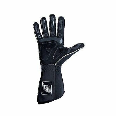 OMP TECNICA EVO MY18 Black Racing Gloves (FIA) - Genuine - XL